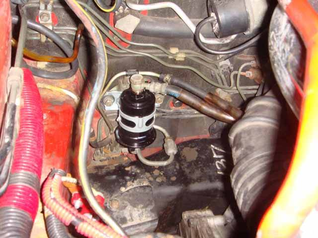 Removing Fuel Filter | Mitsubishi 3000GT & Dodge Stealth Forum | Gt 3000 Fuel Filter Location |  | 3SI.org