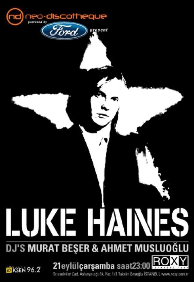 NeoDiscotheque Luke Haines