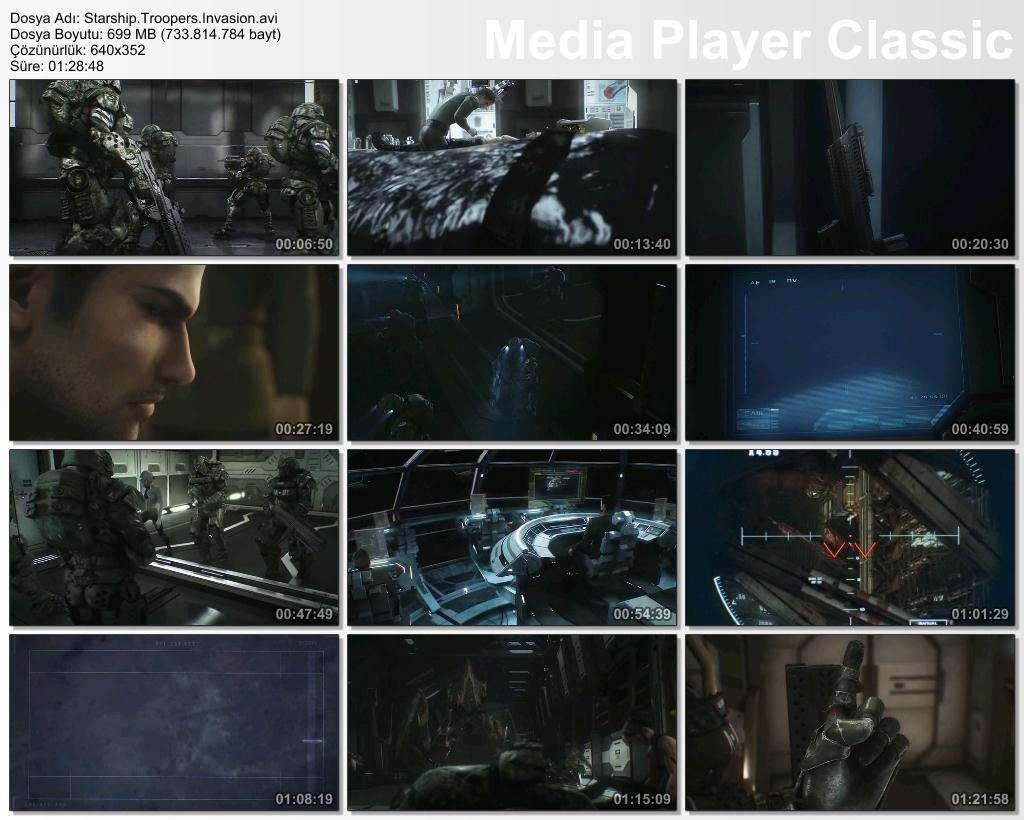 Starship Troopers Invasion - 2012 BRRip XviD - Türkçe Dublaj Tek Link indir