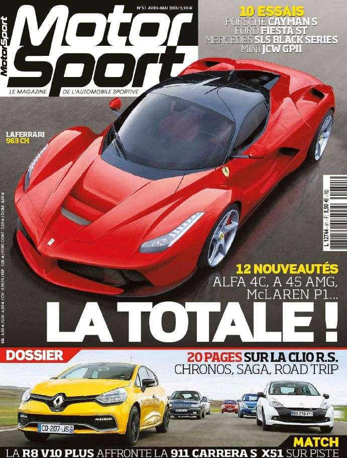 Motor Sport N°51 Avril Mai 2013
