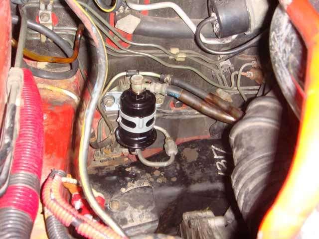 removing fuel filter - 3000gt/stealth international ... 2010 dodge avenger fuel filter #15
